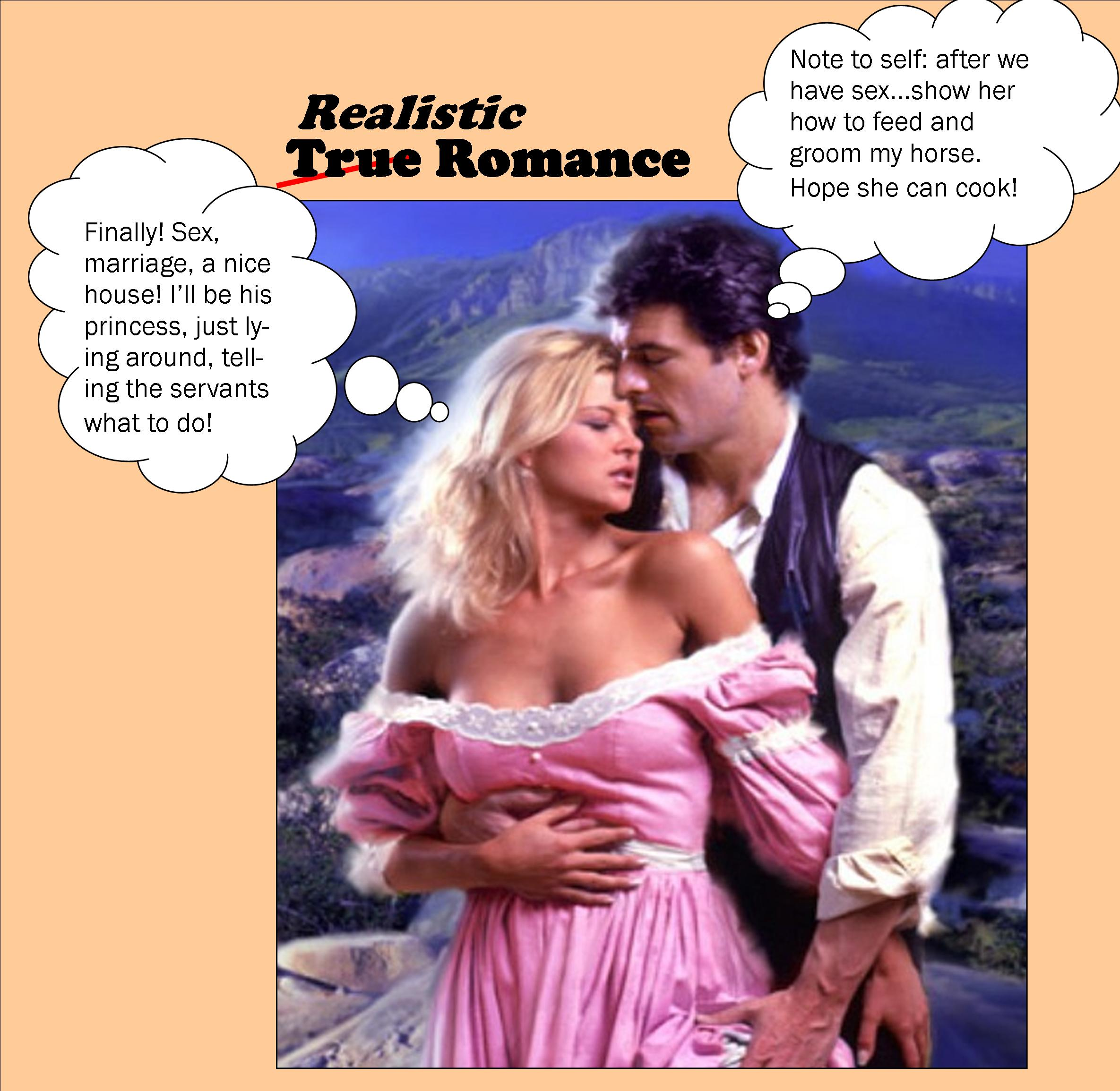Word Press Feature Real Romance