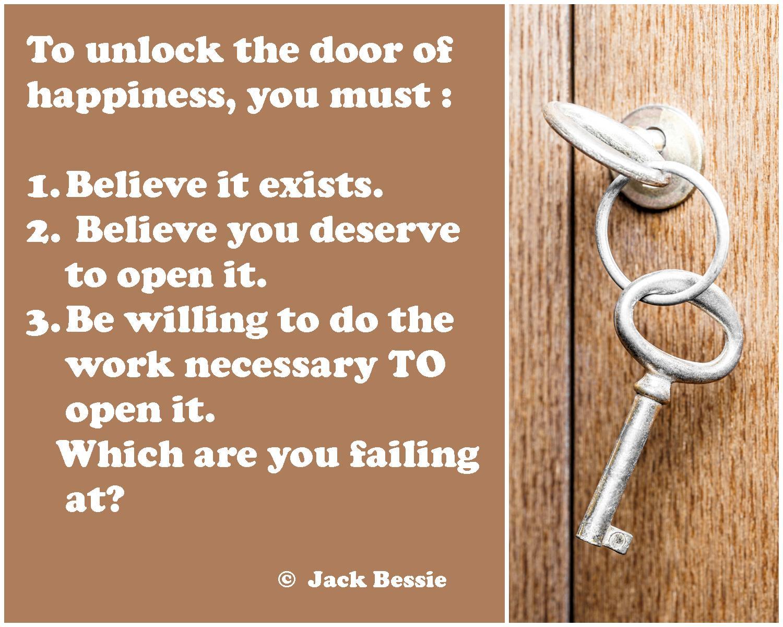 Door of happiness