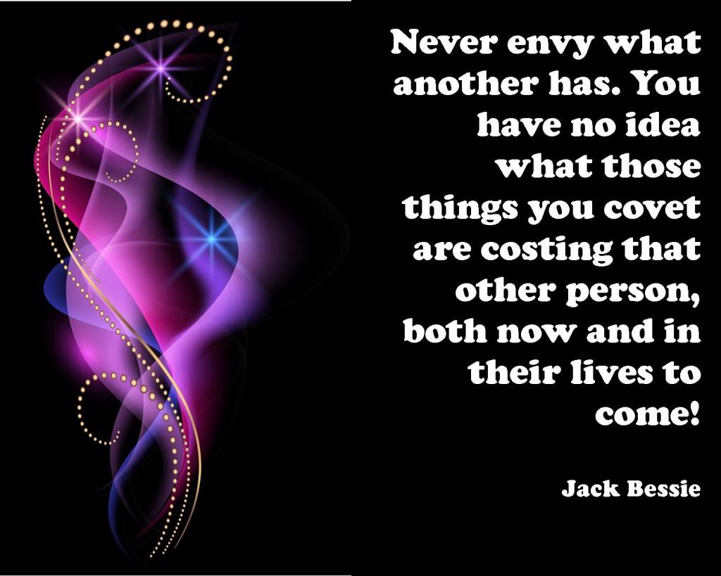 never covet