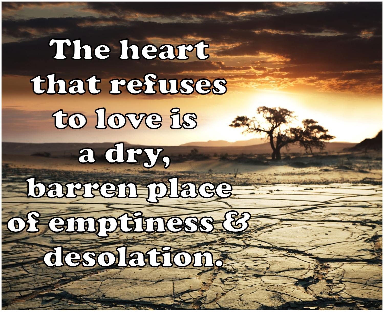 Barren place