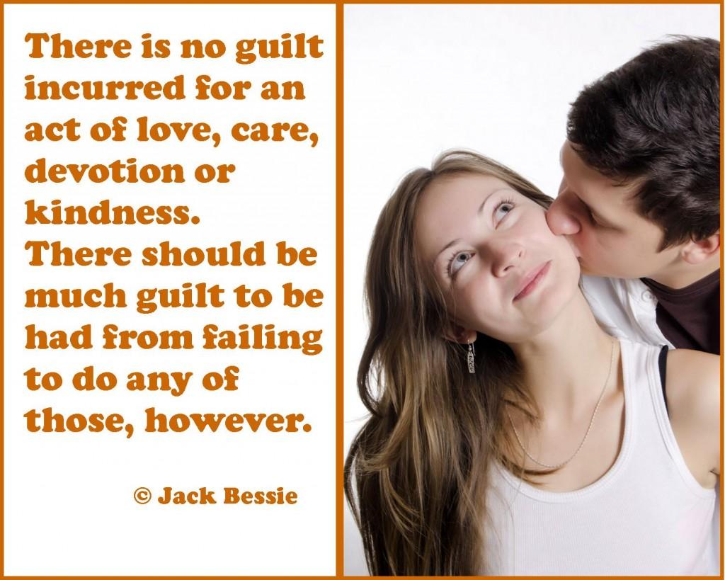 much guilt