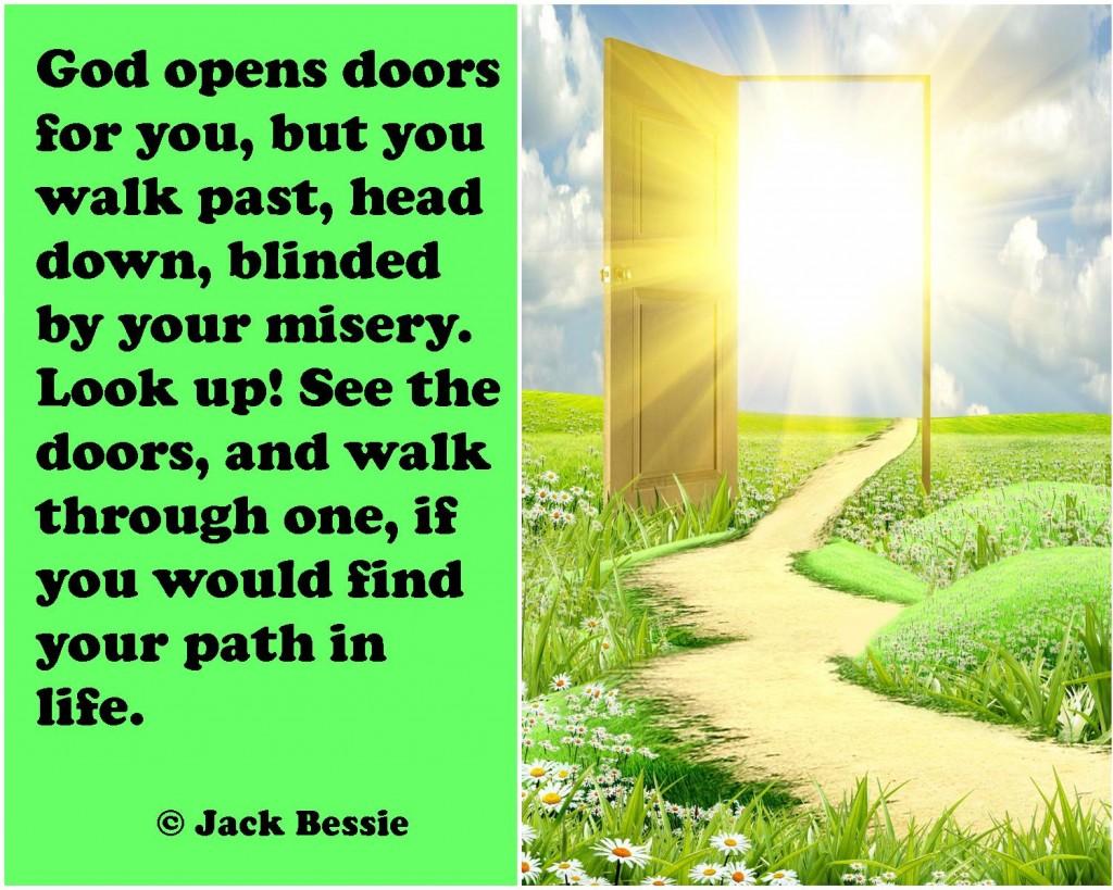 opens doors